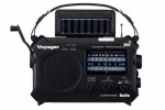 Voyager solar powered emergency radio