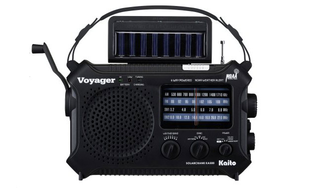 The Voyager Solar Radio And Usb Charger