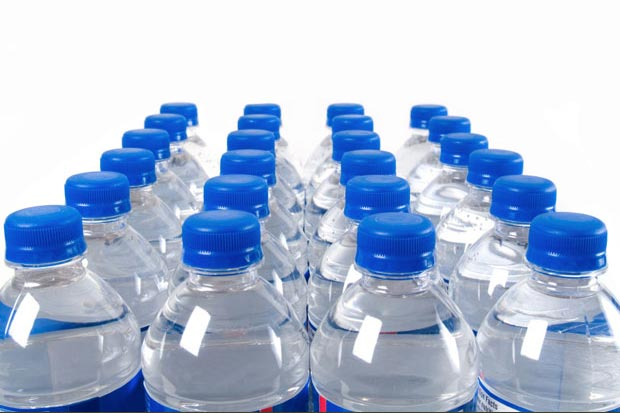 bottled water for emergency supply
